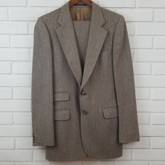 8fbee96868e Yves Saint Laurent Suits & Blazers | Tweed Suit Made In France ...